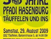 Jubiläums Anlass zum 50 Jährigen bestehen Pfadi Hasenburg