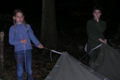 Draussen Übernachten 2003