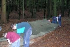 Draussen Übernachten 2004
