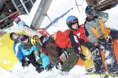 Schneeweekend 2009