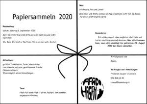 thumbnail of 2020_Papiersammeln_Einladung